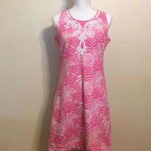 Lilly Pulitzer Foster Knit Shift Hotty Pink Dress